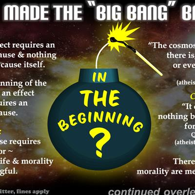 "Who made the ""Big Bang"" Bang?"