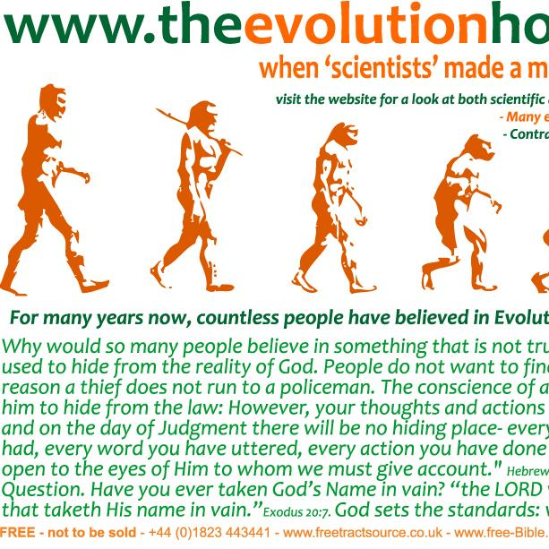 The Evolution Hoax