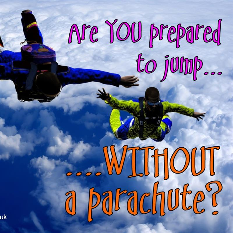 are you prepared to jump?